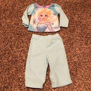 Disney's Frozen Elsa Pajamas 12 months